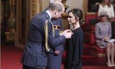 Foto: Viktorija Bekhema saņem Virsnieka ordeni