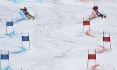 Pirmajās olimpiskajās kalnu slēpošanas komandu sacensībās uzvar Šveice