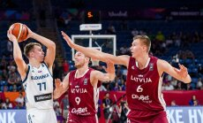 Porziņģis pirms NBA drafta ļoti slavinoši izsakās par slovēņu talantu Dončiču