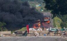 Austrumukrainas teroristi ir panikā, meklē palīdzību Krievijā, Krimā, norāda eksperts