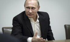Putins: Krievijā nekādas ekonomiskās krīzes nav