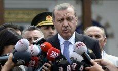 Erdogans brīdina Krieviju nezaudēt Turcijas draudzību