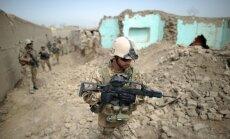 ASV gaisa spēku uzlidojumā nogalināti 14 Afganistānas valdības karavīri