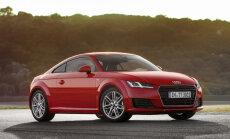 Jaunais 'Audi TT' iegūst 1,8 litru turbomotoru