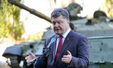Davosas forums: Ukraina divu gadu laikā plāno atteikties no Krievijas dabasgāzes, norāda Porošenko