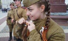 Ukrainā par Georga lentes nēsāšanu turpmāk draudēs arests