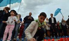 Simferopolē piemin Krimas tatāru deportāciju 70.gadadienu