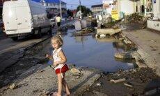 Pēc plūdiem Krimskā bez elektrības ir vēl 18 tūkstoši iedzīvotāju