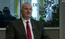 ВИДЕО. Интервью на Delfi TV: Янис Домбурс vs Андрис Равиньш