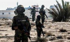 Ēģiptē sadursmēs ar islāmistiem gājuši bojā vismaz 55 drošībnieki