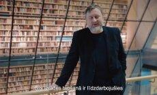 Ceļojums pie nākotnes latvieša. Ilmārs Šlāpins par simtgades uzvedumu 'Gaismas raksti'