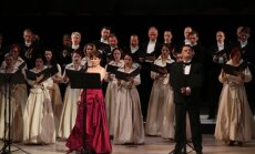 Foto: Marina Rebeka un Aleksandrs Antoņenko operas 'Norma' koncertuzvedumā