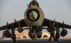 ASV koalīcija pirmo reizi notriec Sīrijas spēku lidmašīnu