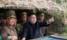 ANO nosoda 'augsti provokatīvo' Ziemeļkorejas raķetes palaišanu