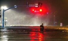 Foto: Viesuļvētra 'Neits' sasniedz Misisipi deltu