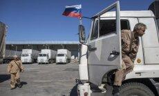 Trešajā Krievijas 'humānajā konvojā' vesta munīcija un izlūkošanas aprīkojums, paziņo eksperts