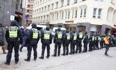 16 марта в Риге: участников мероприятий стало гораздо меньше