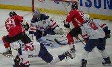 Kanādas hokejisti pirms Pasaules kausa pārbaudes mačā apspēlē ASV
