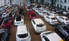Video: Vācijā vienkopus pulcējies rekordliels elektromobiļu skaits