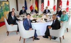 В Японии открылся саммит G7: главные темы — Сирия, Украина, беженцы