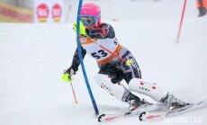 Kalnu slēpotājai Āboltiņai 39.vieta Eiropas Jaunatnes ziemas olimpiādes slaloma sacensībās