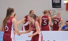 Latvijas U-20 basketbolistes atspēlējas un pagarinājumā izcīna septīto vietu Eiropas čempionātā