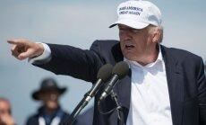 Mūra vietā uz ASV robežas ar Meksiku dažviet varētu būt žogs, pauž Tramps