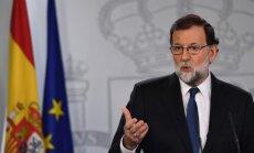Spānijas valdība uzsāk Katalonijas autonomijas apturēšanas procesu
