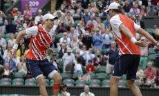 Brāļi Braieni kļūs par 'Grand Slam' dubultspēļu tituliem bagātāko pāri vēsturē