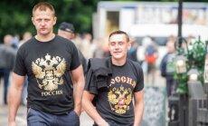 Foto: Viļņā jau svētdien nosvinēta Krievijas diena
