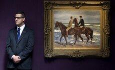 Nacistu nolaupīto Lībermana gleznu izsola par 1,9 miljoniem mārciņu