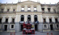 UNESCO: Brazīlijas Nacionālā muzeja atjaunošana varētu prasīt desmit gadu