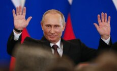 Путин поздравил Вейониса со вступлением на пост президента Латвии