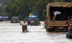 Plūdos ASV Luiziānas štatā septiņi bojāgājušie