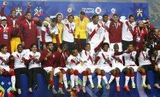 Peru futbolisti otro reizi pēc kārtas izcīna trešo vietu 'Copa America' turnīrā