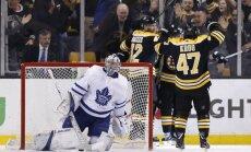 """НХЛ: """"Бостон"""" стал последним четвертьфиналистом Кубка Стэнли"""