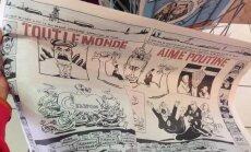 Charlie Hebdo, karikature Putins