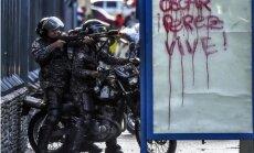 Venecuēlas spēki patvaļīgi nogalinājuši simtiem cilvēku, apsūdz ANO