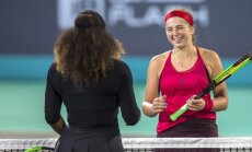 Алена Остапенко обыграла Серену Уильямс, вернувшуюся в спорт после рождения дочери