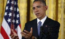 Obama apsveic republikāņus ar uzvaru vēlēšanās; par uzdevumiem nosauc cīņu ar teroristiem un Ebolu