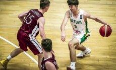 Latvijas U-16 puišu basketbola izlase EČ noslēdz astotajā vietā