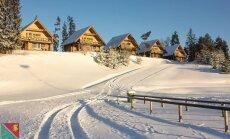 Ziemas prieku centrs Madona: kur slēpot un baudīt sniegu šajā Vidzemes mazpilsētā