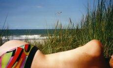 Saules ultravioletā radiācija - tik augsta kā vasarā