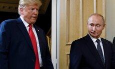 В Пентагоне одобрили идею Трампа пригласить Путина в Вашингтон