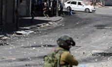 Sadursmēs ar Izraēlas armiju Rietumkrastā nošauti divi palestīnieši
