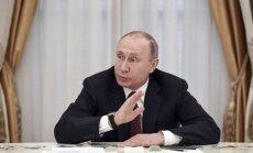 Lai gan tiks samazināti izdevumi, Krievijas militārās spējas necietīs, skaidro Putins