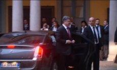 Putins tikšanos ar Porošenko raksturo kā 'labu un pozitīvu'; gatavs turpmākām sarunām