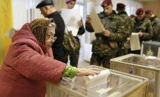 Ukraiņi ir balsojuši par mieru un Eiropu, secina novērotājs no EP