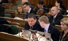Saeima lems par Fiskālās disciplīnas padomes apstiprināšanu