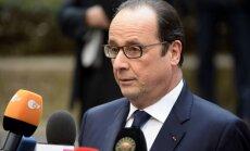 Olands: Francija un Krievija ved sarunas, lai atrisinātu 'Mistral' lietu
